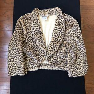 Animal print jacket. NWT.